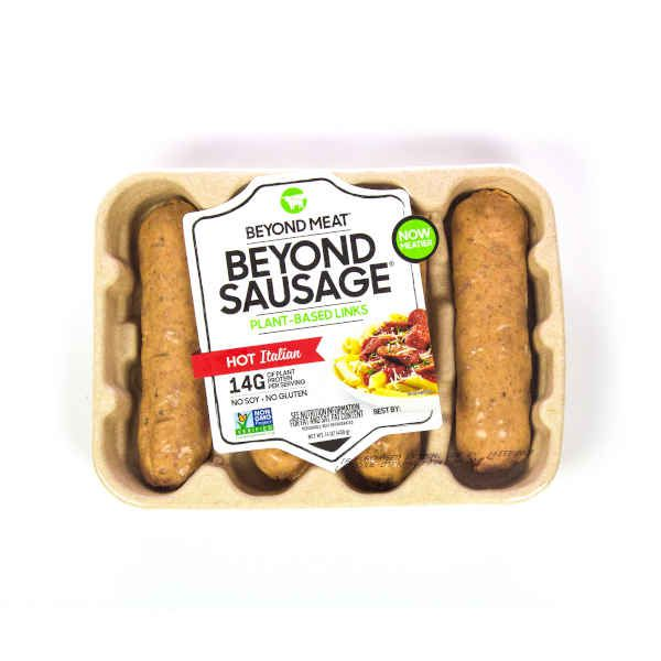 Beyond Sausage Tipo Hot Italian 4Unds x 99 gr c/u - Beyond Meat